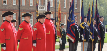 Gunner Sunday, Royal Hospital Chelsea