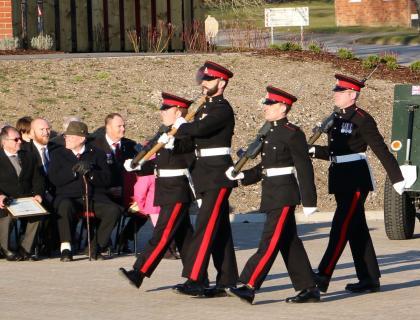 Newbury Veterans Honoured