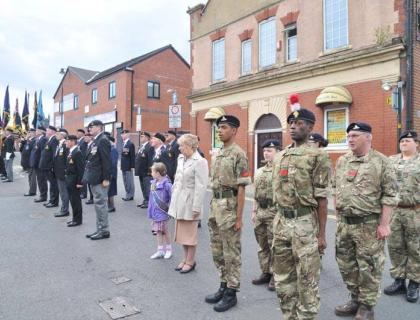 Great day out at Oldham celebrating 300 years of the Royal Artillery