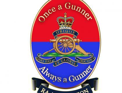 Royal Artillery Association Lapel Badge