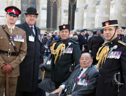 Field of Remembrance - Westminster Abbey - 6th  November 2014