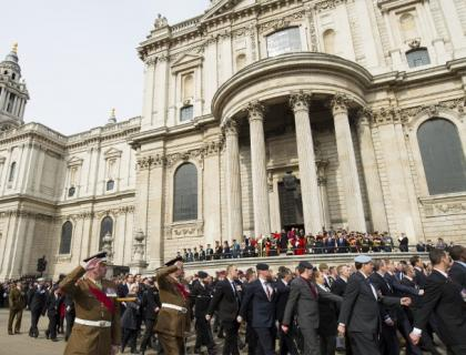 Veterans pay their respects at Afghanistan Service