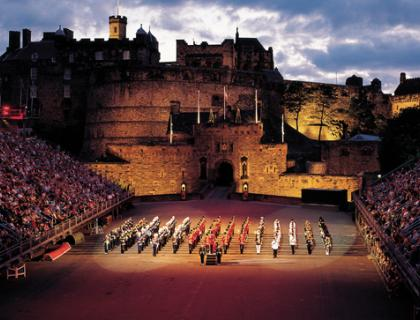 Edinburgh Tattoo is a must.........