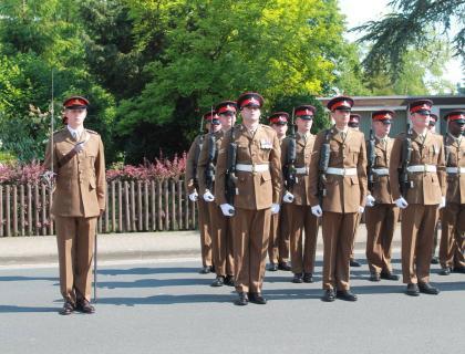 3rd Regiment, Royal Horse Artillery Say Goodbye.....