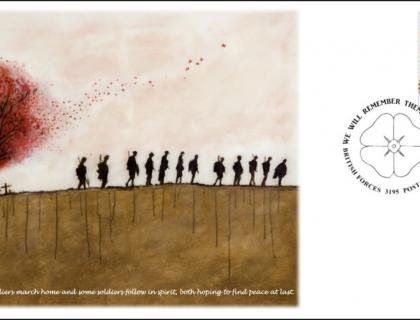 BFPS Issues Armistice Day Cover in Remembrance