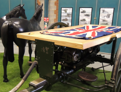 National Lottery support project to explore the role of WW1 Guns in State Funerals