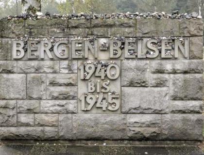 113th Light Anti-Aircraft Regiment Bergen-Belsen 1945
