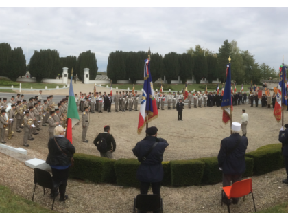 The Association extends its Regimental Family to France & Italy