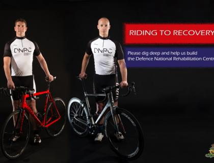 'The Gunners' take on Pru Ride London on behalf of the DNRC
