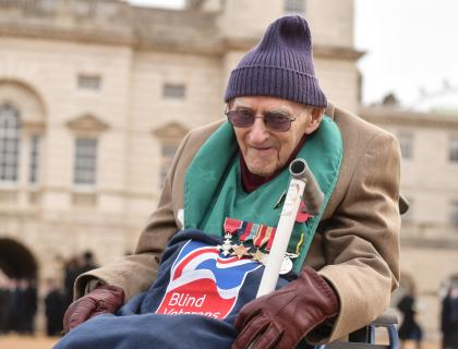 Blind veteran who escaped WWII PoW camp publishes book about his wartime experiences