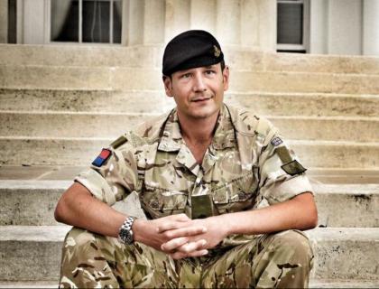 Royal Artillery motorcyclist attempts world record