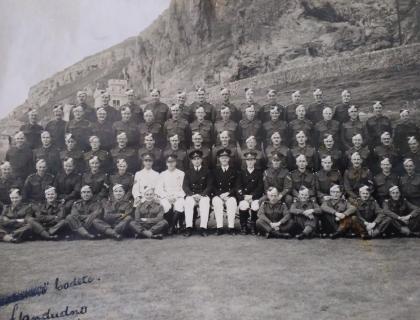 Captain C V Aylin RA - World War II: The Aftermath
