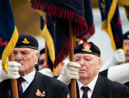 We Will Remember Them, the #RegimentalFamily pay their respects