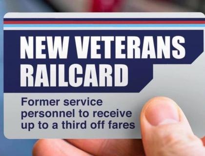 New Veterans Railcard