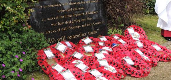Royal Artillery Service of Remembrance