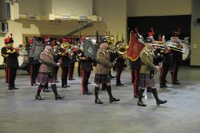 Pipers of 103 Regt RA