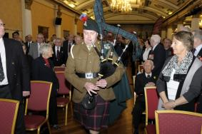 103 Regt RA piper formally begins the AGM