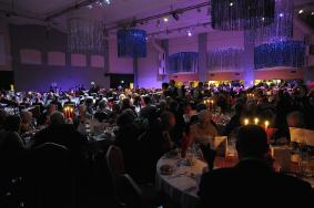 The Gala Dinner in full swing