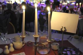 Gala Dinner by candlelight
