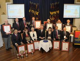 RAA award winners 2016