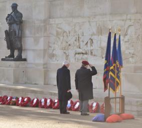 Saluting the Fallen