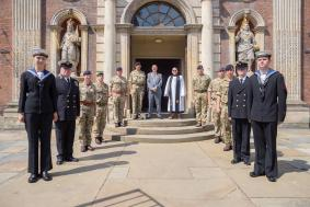 Armed Forces together