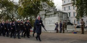Hyde Park Corner - RA Memorial Veterans March Past