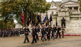 RAA Standard Bearers making us proud