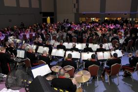 103 RA Band entertaining the Gala Dinner