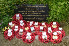 RA Garden memorial stone