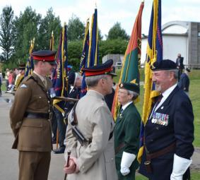 Inspection of Standards by Col A Cameran