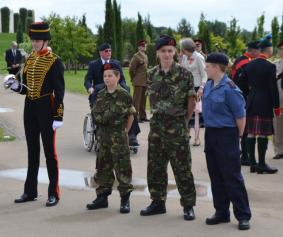 Cadets and Kings Troop