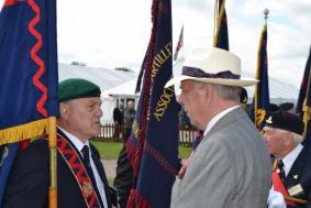 Gen Milne & Mr T Wilson, QCSB