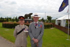 Col Cameron & Gen Milne