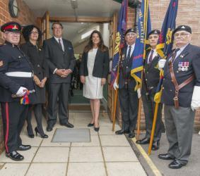 MP Caroline Nokes & RAA Members