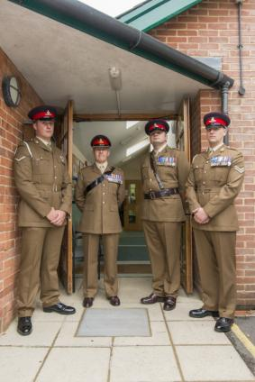 Serving Royal Artillery from 93 (Le Catteau Bty)