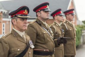 Royal Artillery on Parade