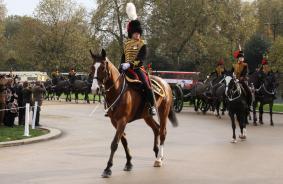 Kings Parade Salute