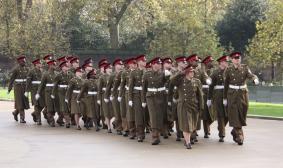 Regimental salute