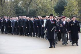 Maj Gen Milne leads the Veterans
