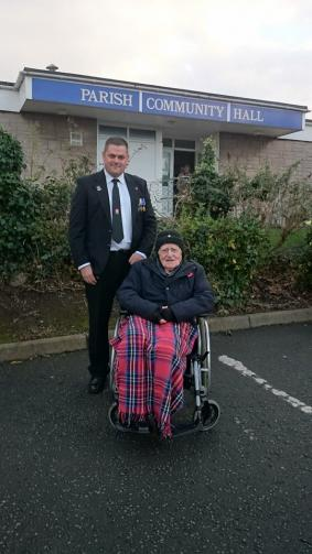94 year old Veteran - Respect