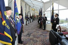 Standard Bearers Inspection