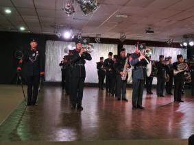 Ghurka Band Performing