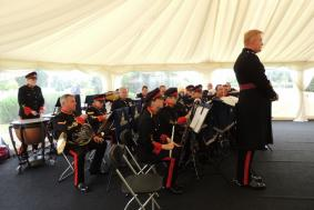 Music from the band of 103 Regt RA