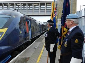 Standard Meeting the Poppy Train