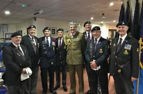 Standard Bearers & Regimental Colonel