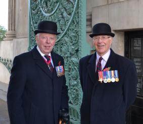 Maj Gen J Milne CB & Brig D Radcliffe OBE
