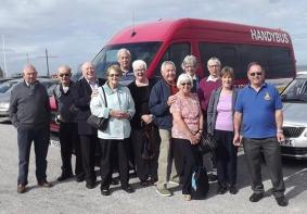 Newbury Branch members head off on another trip, summer 2016.