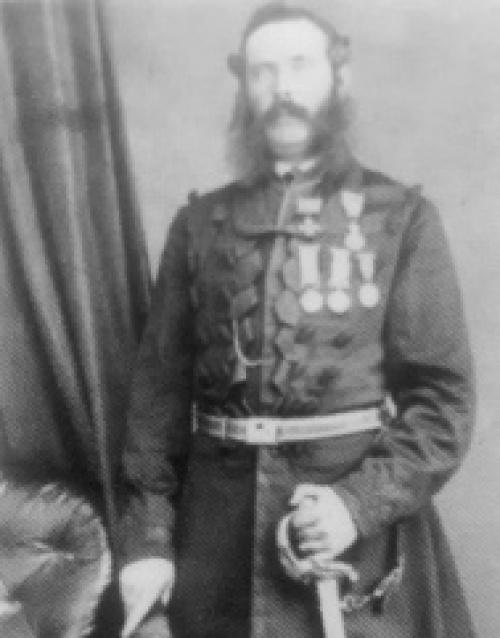 Maj Gen Matthew Dixon VC