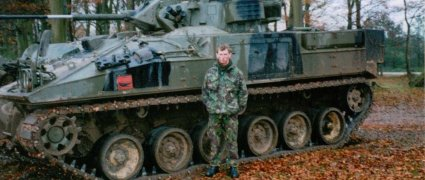 Royal Artillery Charities - Soldier Stories - Allan Izzard